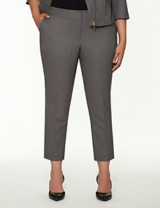 Sophie bird-eye ankle pant by LANE BRYANT