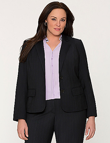 Tailored Stretch pinstripe jacket