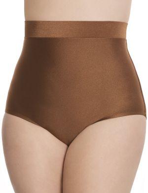 Tummy Control Shimmery high waist swim brief