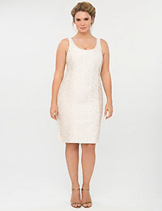Lace sheath dress by Isabel Toledo