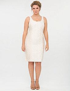 Lace sheath dress by Isabel Toledo