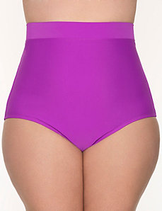 Tummy Control High waist swim brief by LANE BRYANT