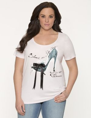 Shoes graphic tee