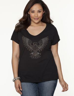 Studded eagle tee by Seven7