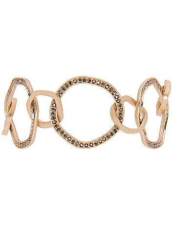 Hammered ring bracelet by Lane Bryant