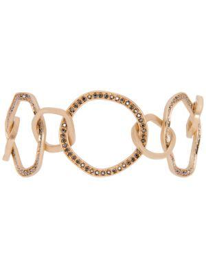 Hammered ring bracelet by Lane Bryant