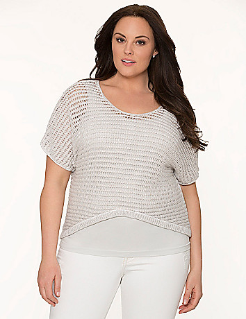 Lane Collection cropped sweater