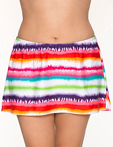 COCOS SWIM striped swim skirt