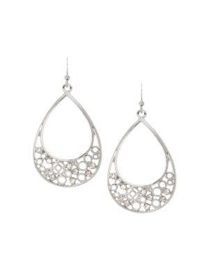 Filigree teardrop earrings by Lane Bryant