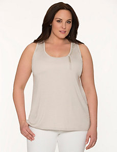 Lane Collection embellished tank by LANE BRYANT