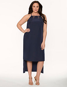 Lane Collection fringed maxi dress