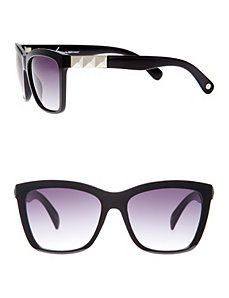 Studded wayfarer sunglasses by LANE BRYANT