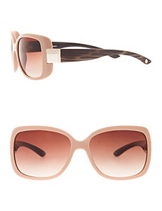 Square frame sunglasses by LANE BRYANT