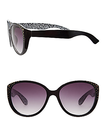 Studded cat-eye sunglasses