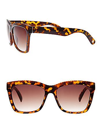 Rhinestone tortoiseshell sunglasses