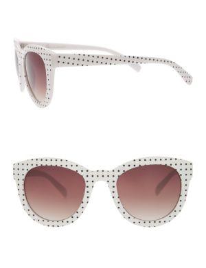 Polka dot cat-eye sunglasses