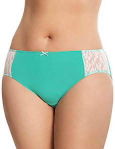 Dazzler hipster panty with lace
