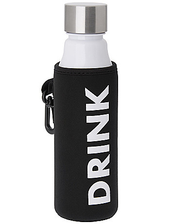Water Bottle with Tote by Lane Bryant