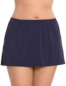COCOS SWIM solid swim skirt by LANE BRYANT