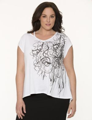 Lane Collection graphic tee