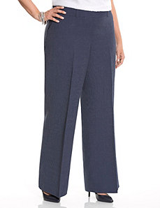 Lena railroad stripe wide leg pant