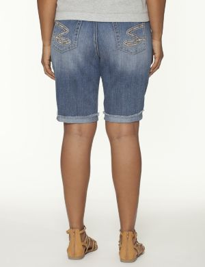 Turned cuff Bermuda short by Seven7