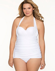 Tummy Concealing Retro maillot swimsuit