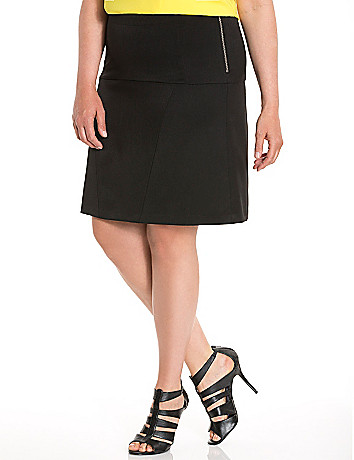 Lane Collection flippy skirt