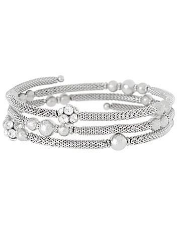 Mesh coil bracelet by Lane Bryant