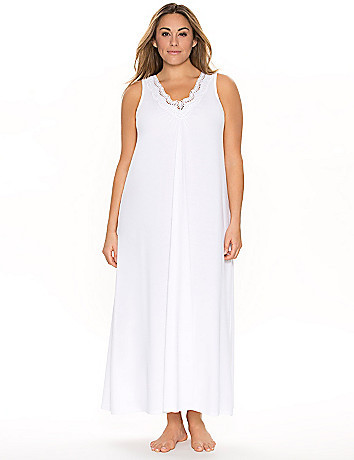 Tru to You crocheted sleep maxi