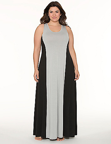 Tru to You colorblock sleep maxi