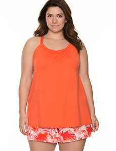 Palm print 2-piece PJ set by LANE BRYANT