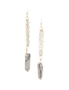 Lane Collection stone earrings