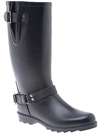 Wide Width Rain Boot by Lane Bryant