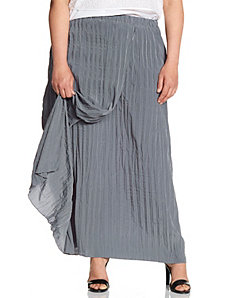 Lane Collection crinkled wrap skirt by LANE BRYANT