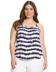 Embellished halter cami by LANE BRYANT