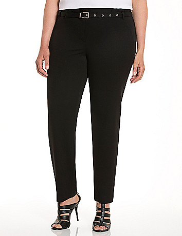 Lane Collection side stripe pant