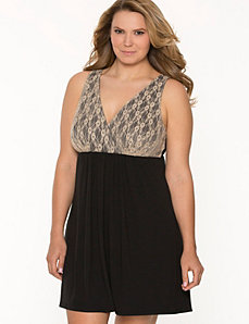 Tru to You lace cup chemise by LANE BRYANT