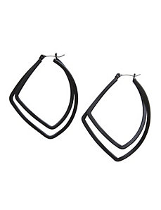 Hammered teardrop earrings by Lane Bryant by LANE BRYANT