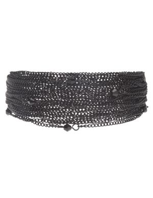 Matte multi chain bracelet by Lane Bryant