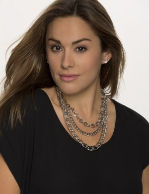 3-in-1 Status link necklace by Lane Bryant
