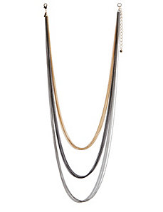 Multi chain long necklace by Lane Bryant by LANE BRYANT