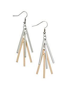 Sunburst stick earrings by Lane Bryant