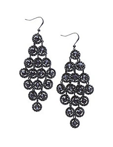 Stone waterfall earrings by Lane Bryant by LANE BRYANT