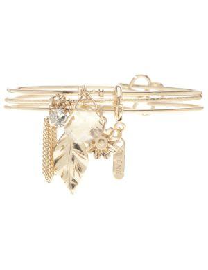 Tassel charm bracelet trio by Lane Bryant