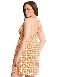 Braided back chemise by LANE BRYANT