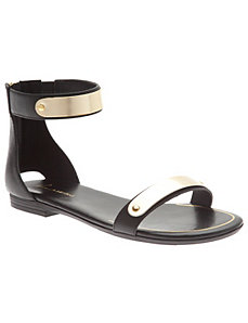 Ankle strap sandal by LANE BRYANT