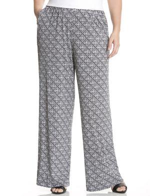 Bohemian print soft pant