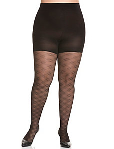 Spanx&reg Floral Check Tights