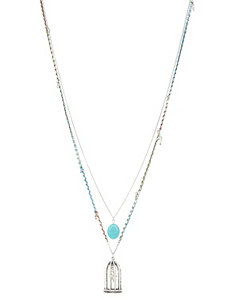 Bird cage pendant necklace by Lane Bryant